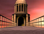 3d Background - Bridge