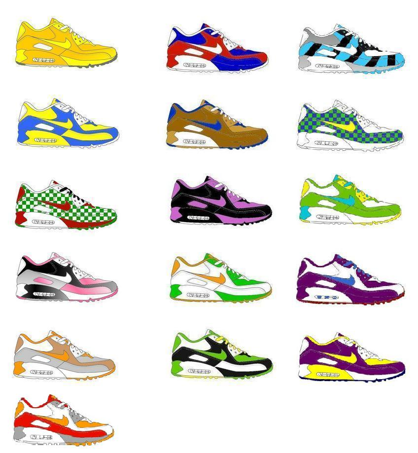 all air max styles