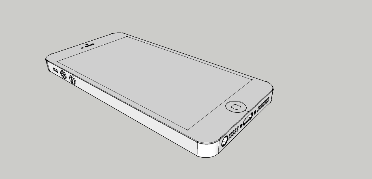 iphone 5 models iphone 5 3d model by doridruz on deviantart 11013