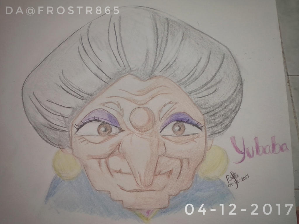 Yubaba From Spirited Away By Frostr865 On Deviantart