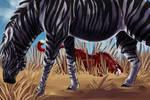 Are Zebras Blind?