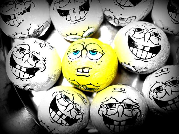 SpongeBob by Anna-Sixx
