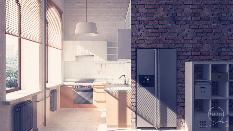 cucine loft by yasinev on deviantart - Cucine Loft
