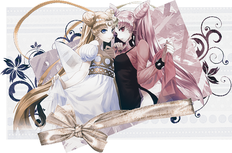 Sailor Moon - Usagi and Chibiusa by Anaya21