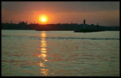 Sunset On Borsphorus