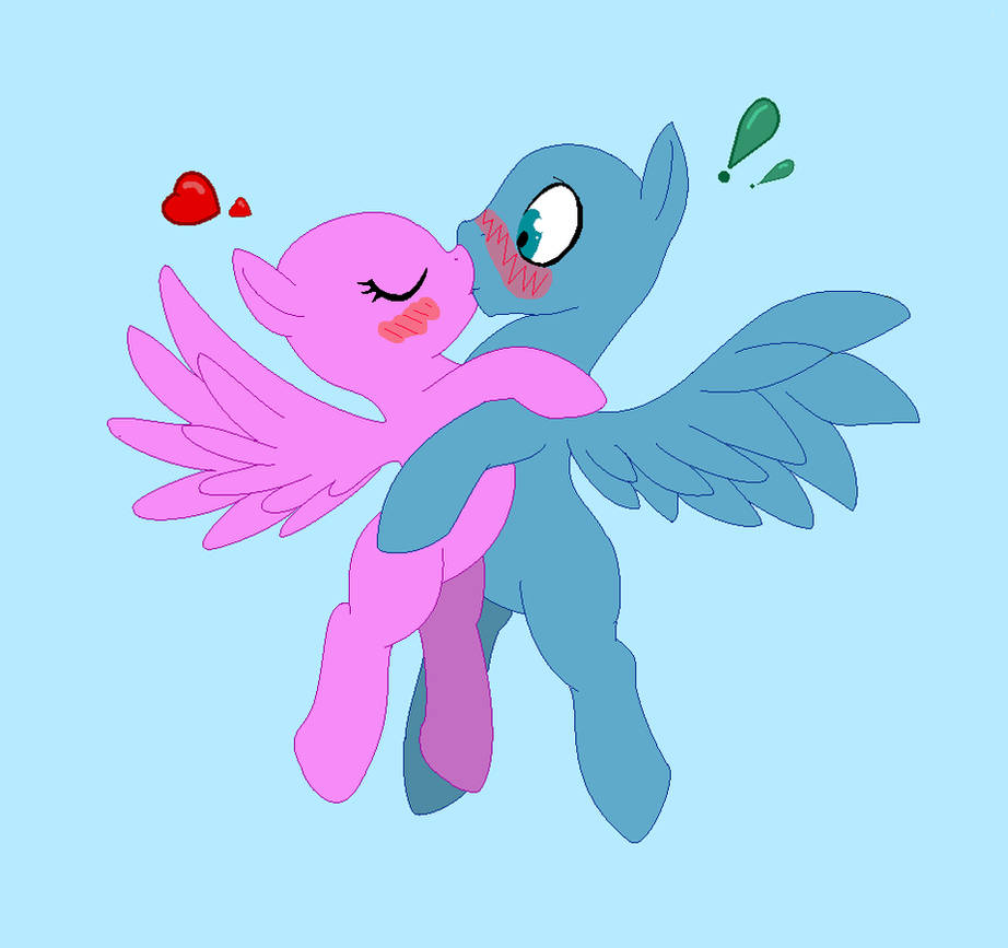картинки манекены пони которые целуются