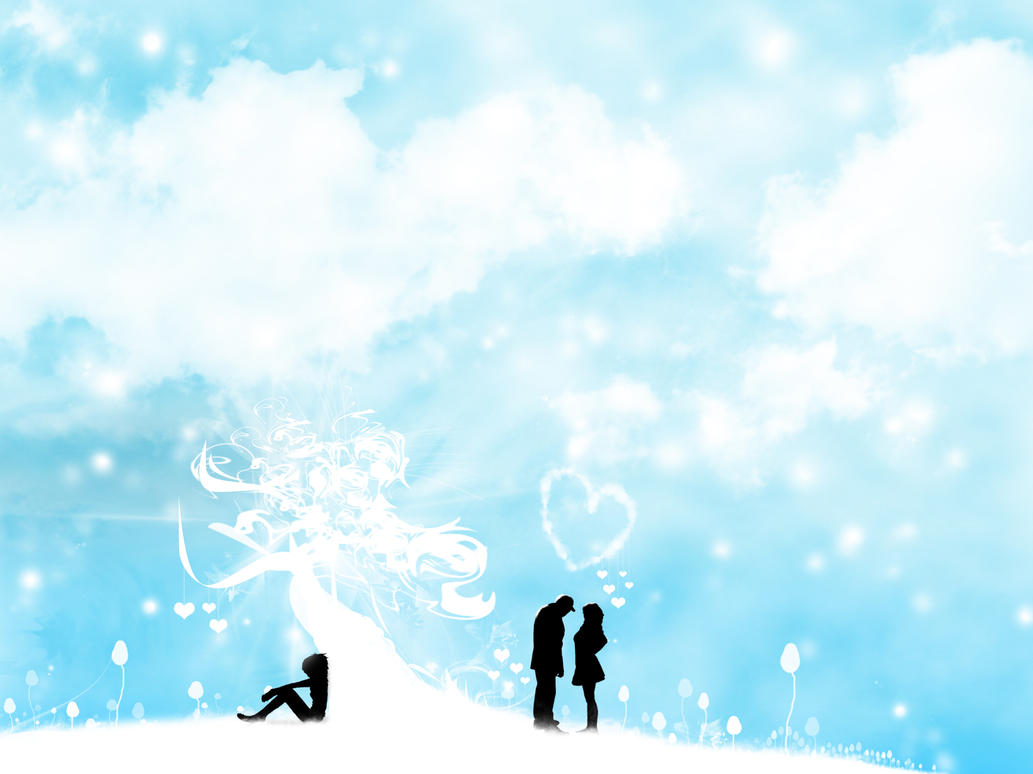 Snow Love Wallpaper For Mobile : Snow Love by Ventry on DeviantArt