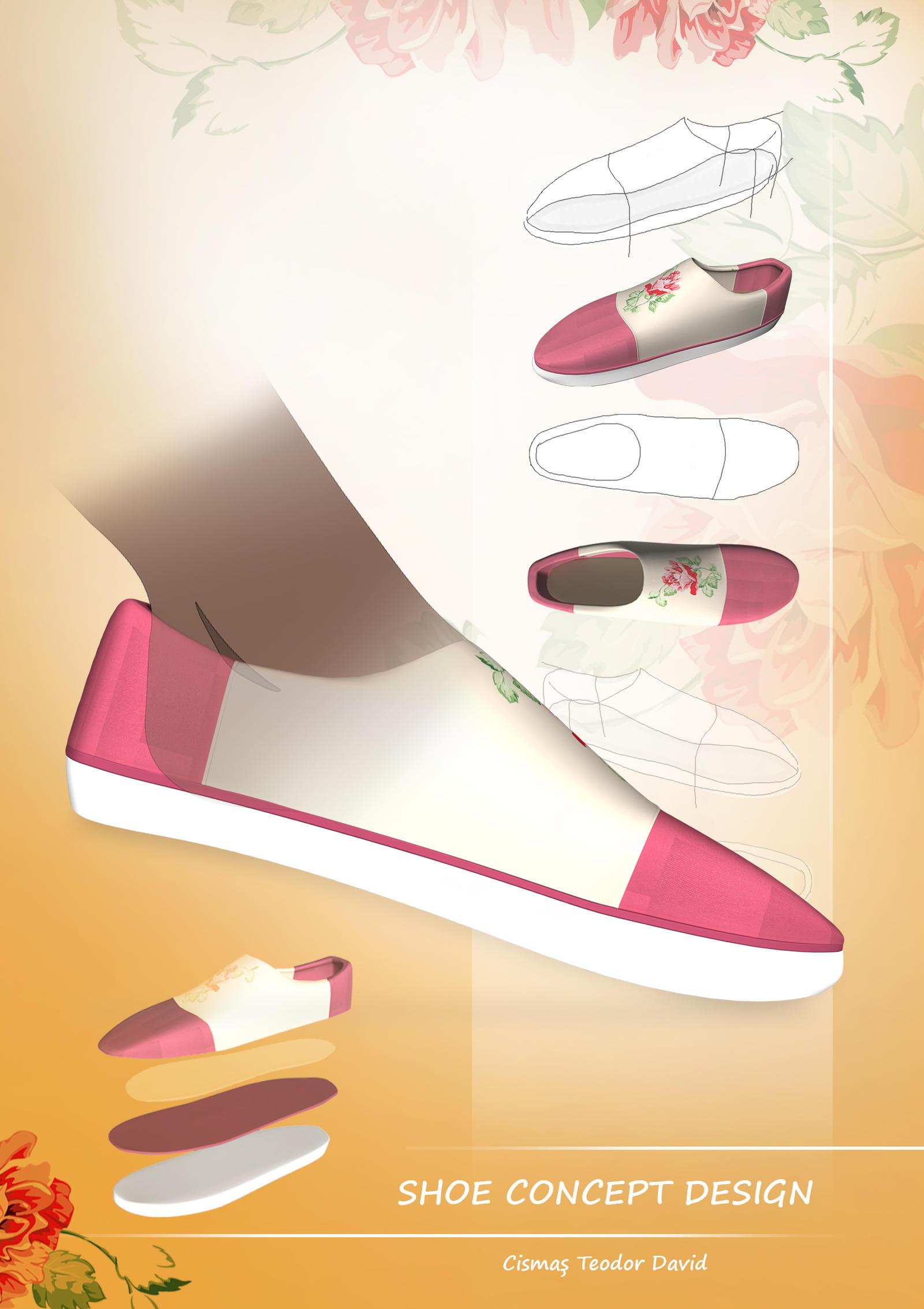 Shoe Graphic Design