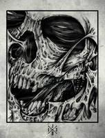 Skull us by juliobandeiras
