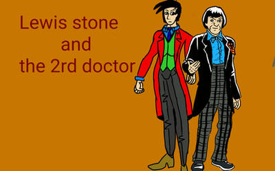 Lewis stone and the second doctor by balloondani