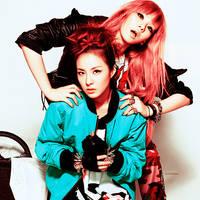 2ne1- Dara, CL by anna06i