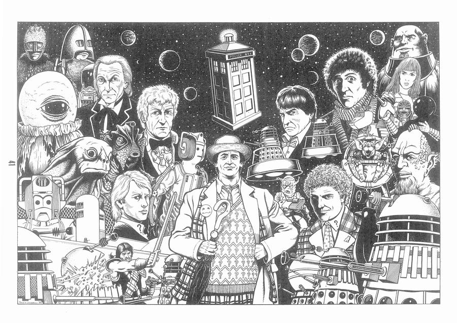 Doctor Who by ga-ren