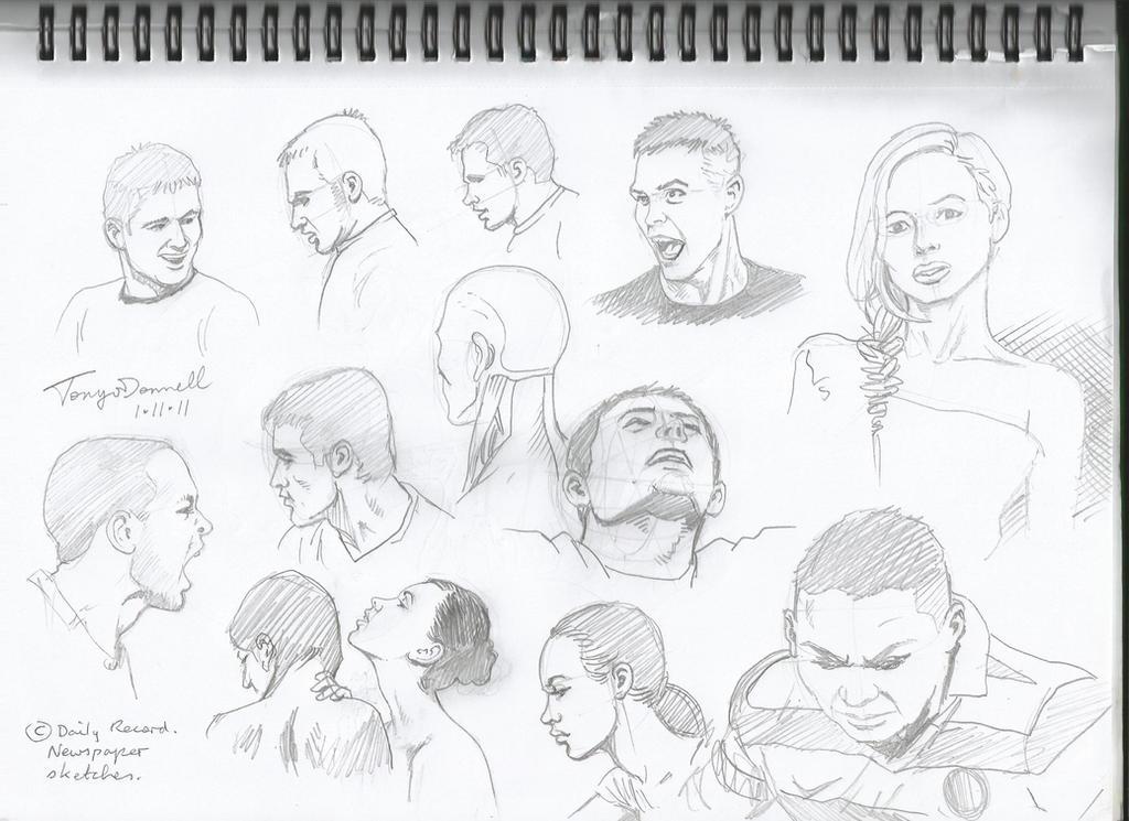 head and neck sketches by ga ren on deviantart