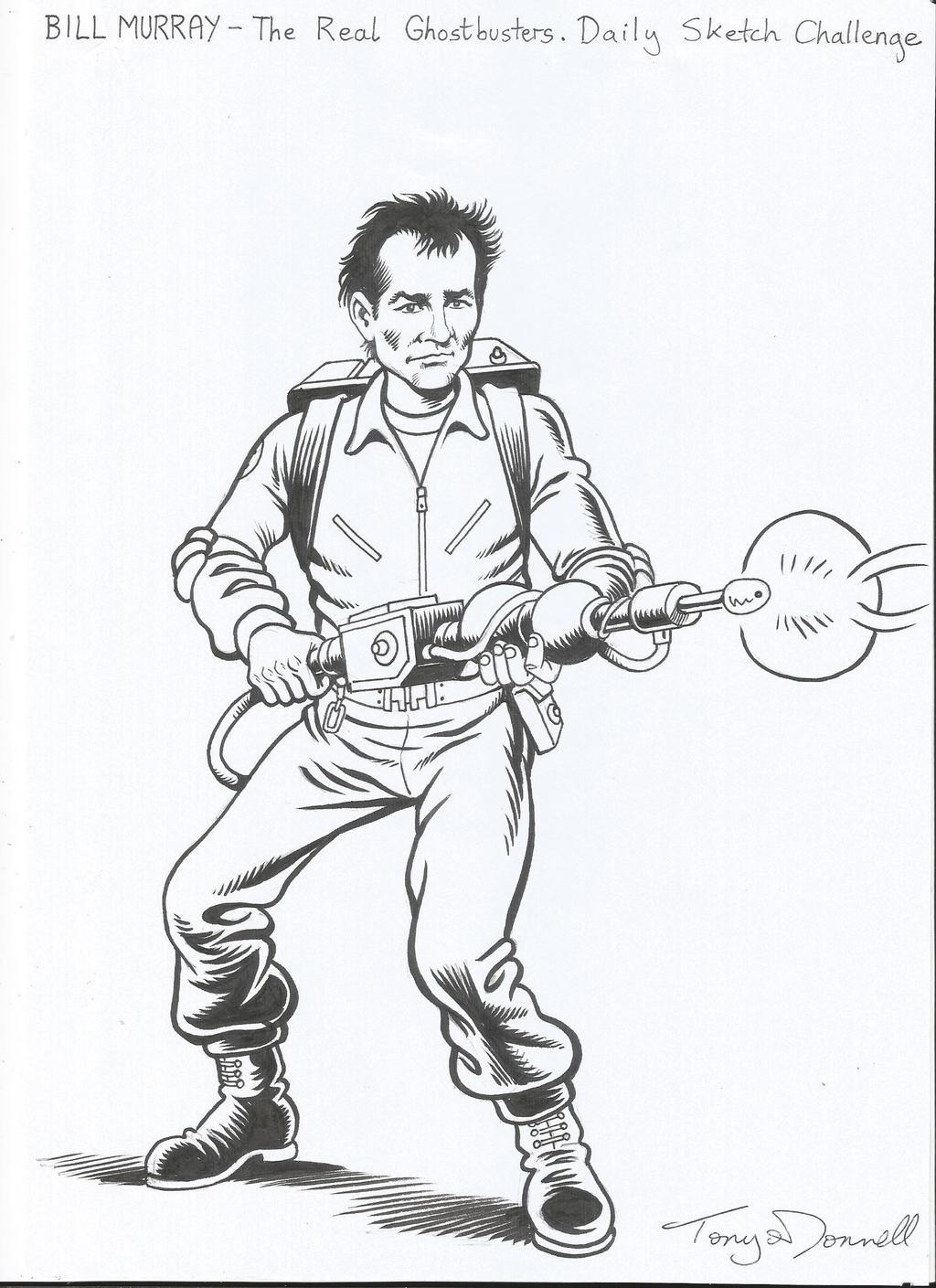 Bill Murray - Ghostbuster! by ga-ren on DeviantArt