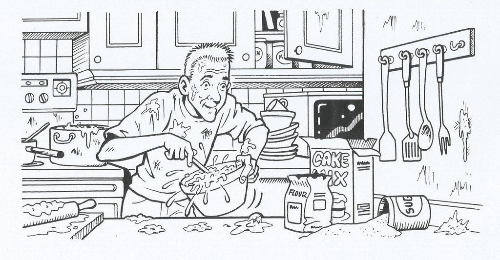 Cooking up a storm by ga-ren