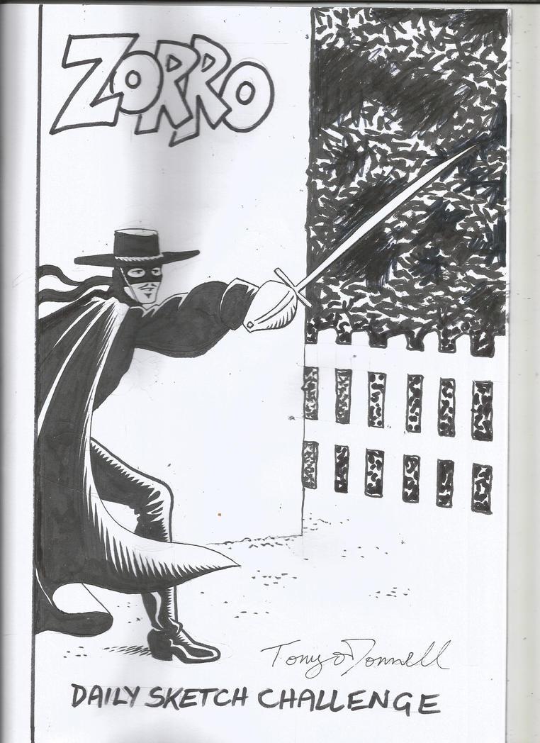 Zorro by ga-ren