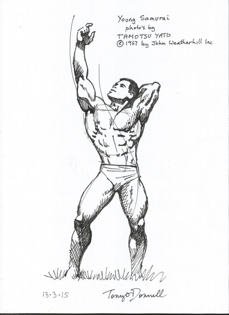 Samurai body builder by ga-ren