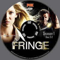 Fringe DivX DVD Label 2