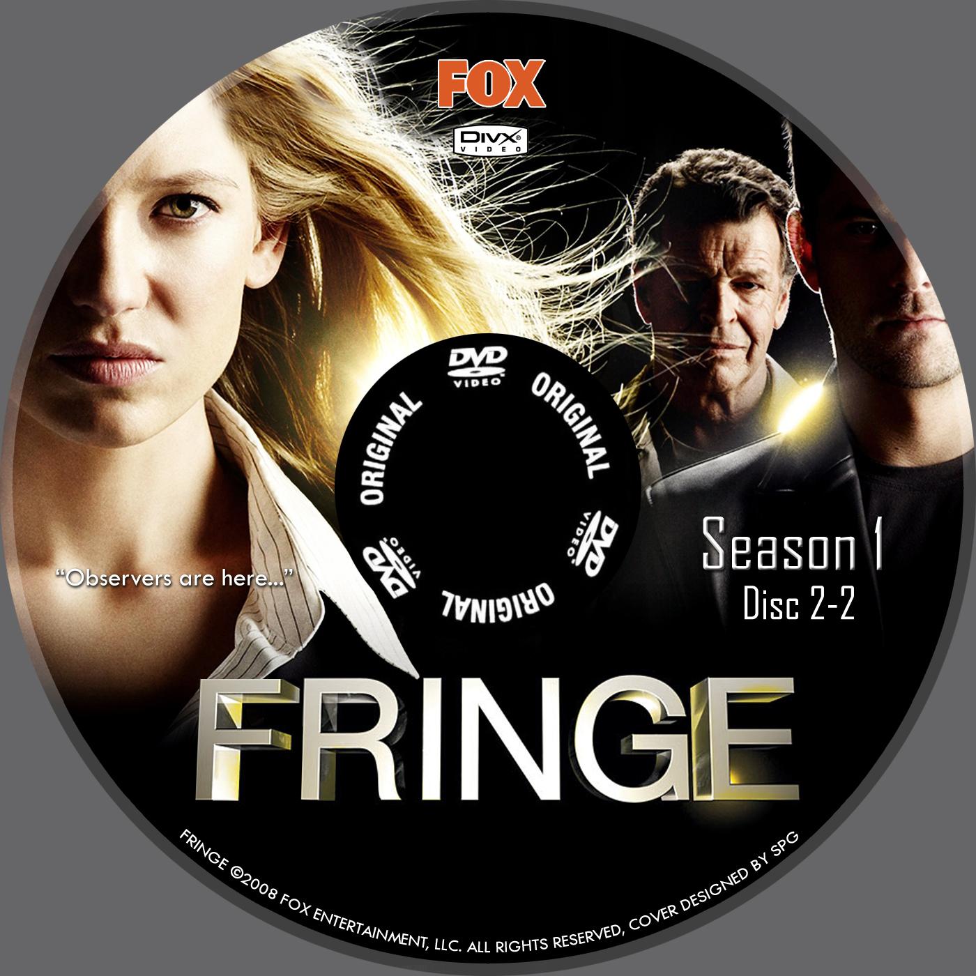 Fringe Divx Dvd Label Spg Images Frompo