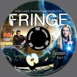 Fringe DivX DVD Label 3