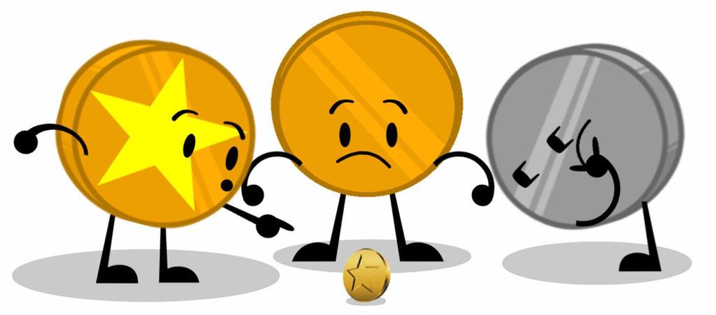 Three coins and a coin by GlazeSugarNavalBlock on DeviantArt