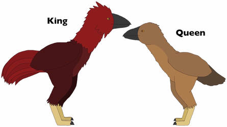 Kokinornis, the red bird that rules France - 1 by GlazeSugarNavalBlock