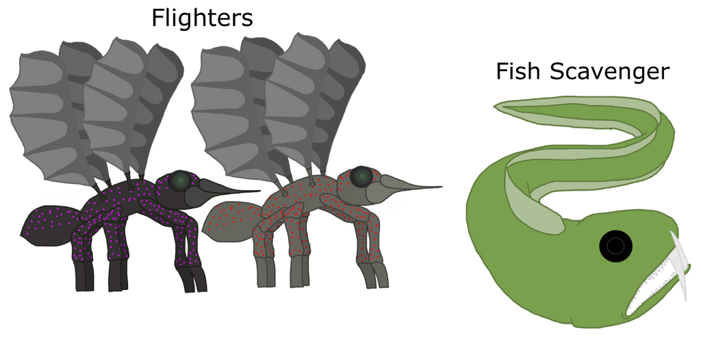 Two animals that should've appeared in SFDI... by Sugar-CreatorOfSFDI