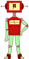 Roboty's Wiki Pose