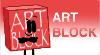 Art Block Stamp by GlazeSugarNavalBlock