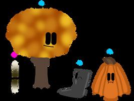The Four Season Adoptables: Autumn (CLOSED) by GlazeSugarNavalBlock