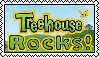 Treehouse TV Stamp