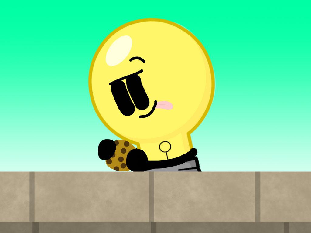 Lightbulb Cookie Monster S Substitute By Glazesugarnavalblock On
