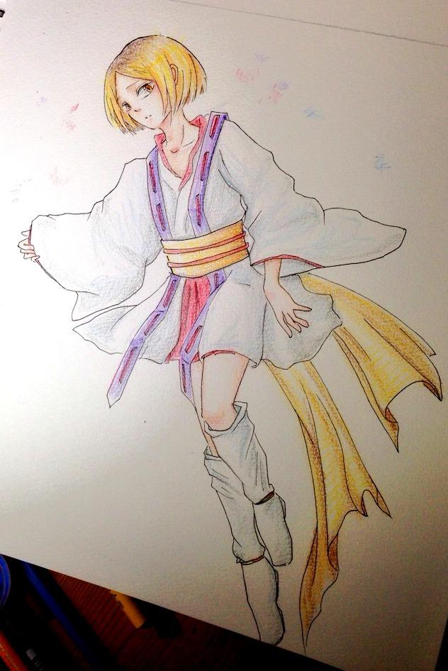 Kenma/Jeanne by xmeltedxazukix