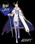 Adoptable Auction[CLOSE] Night Deer 01