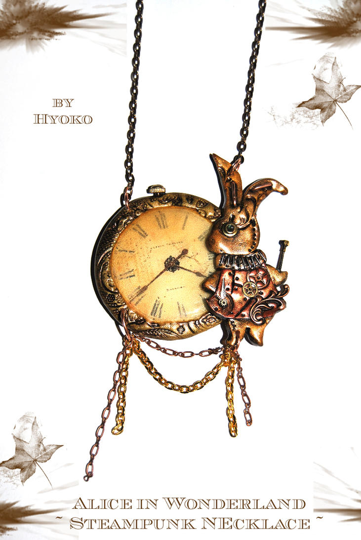 Alice in Wonderland pendant by Hyo-pon