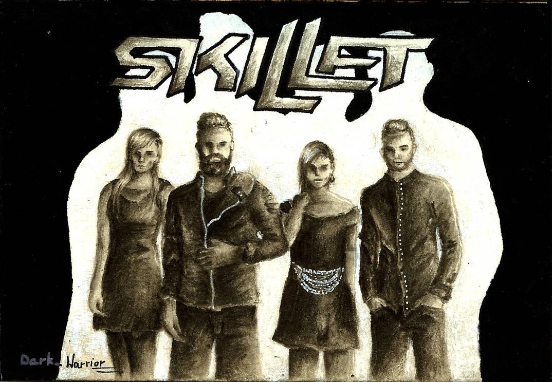 Skillet - Unleashed Tour by DarkWarrior-art on DeviantArt