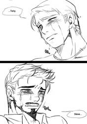 [Steve/Tony] tears by 1ounce