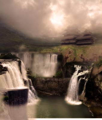 Waterfall by PhoenixKami