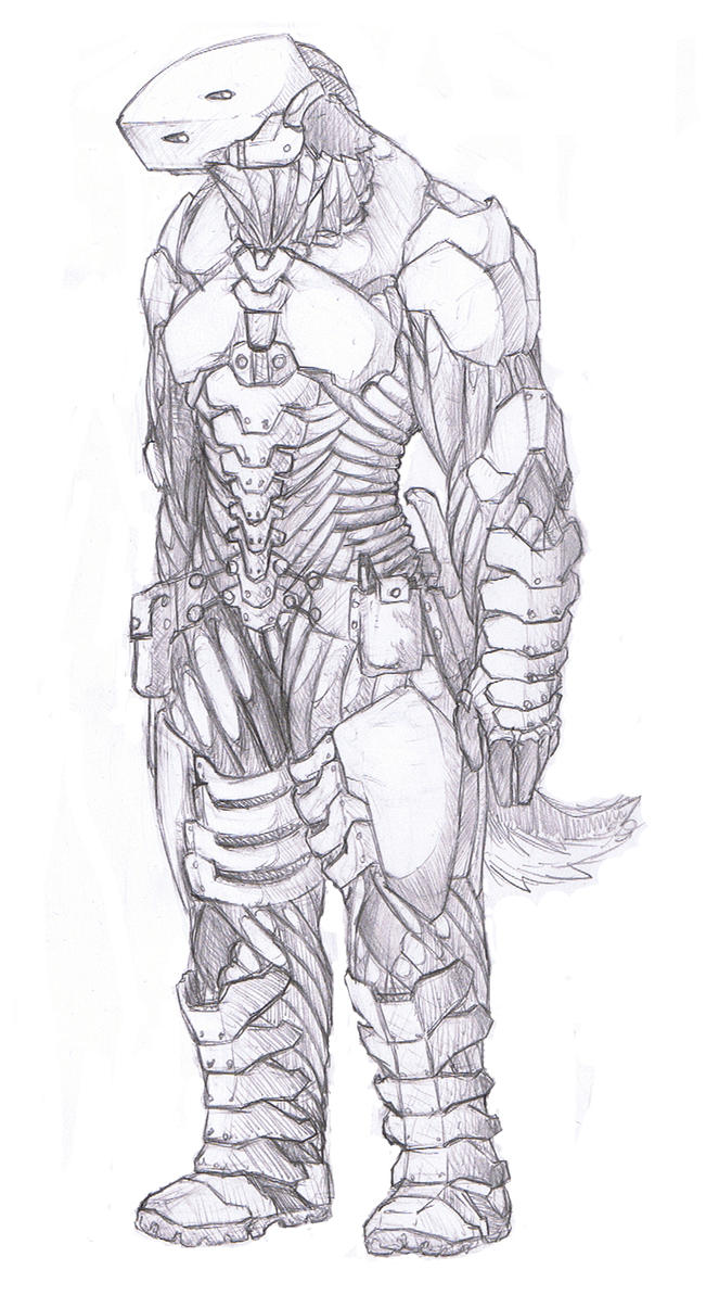 Wolf Anthro Warrior Anthro Warrior Suit by
