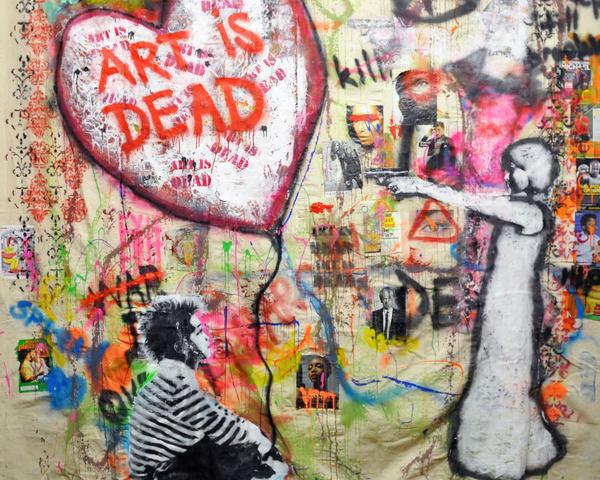 ART IS DEAD gallery 1 by CGT
