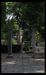 hagia sofia - garden