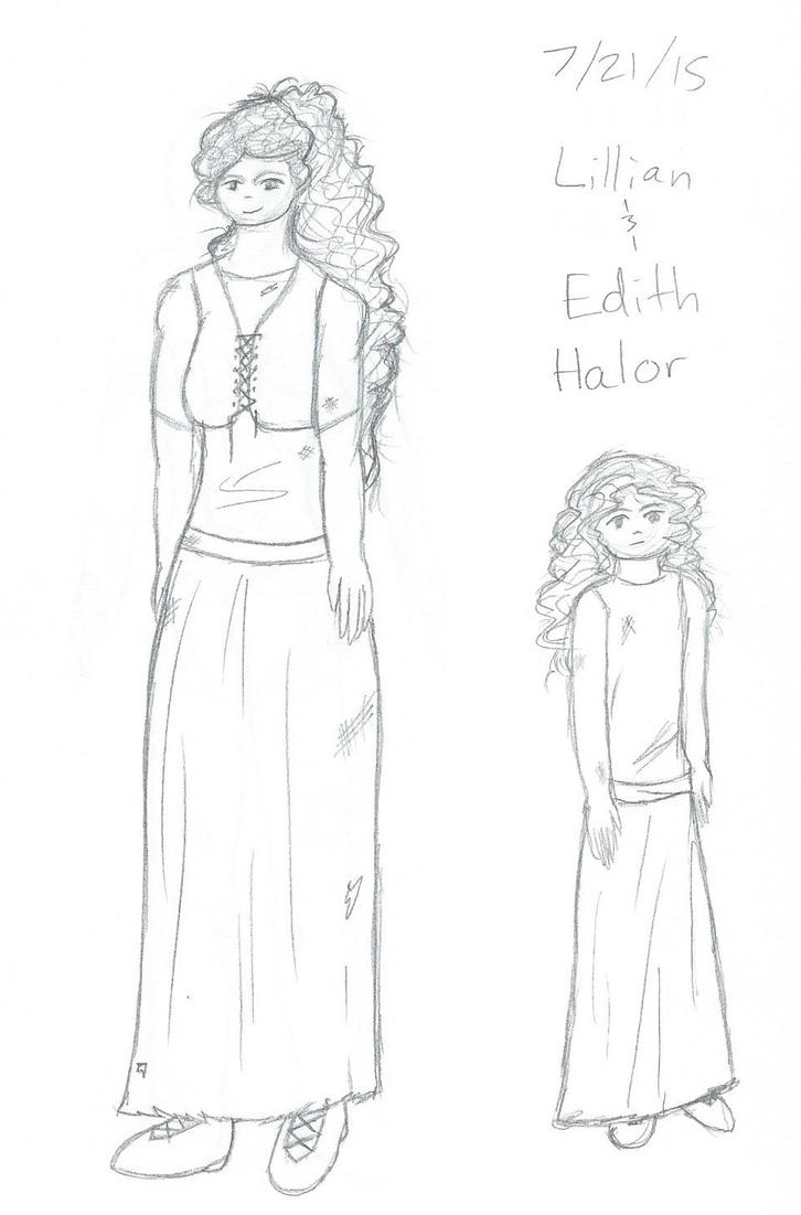 Lillian and Edith by HaroThar