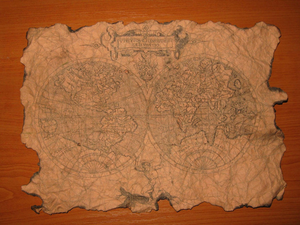 old map replica by bionicron