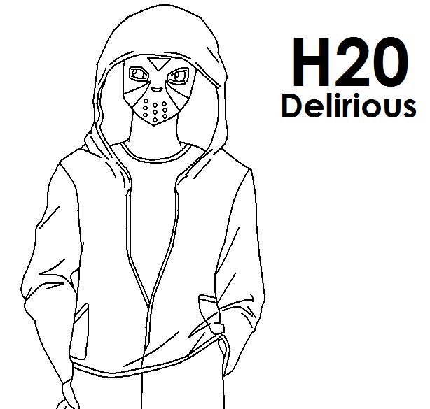 H2O Delirious Anime by pokeczarelf on DeviantArt H20 Delirious Drawings