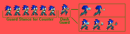 Sonic Custom Sprites: Change The Future by pokeczarelf