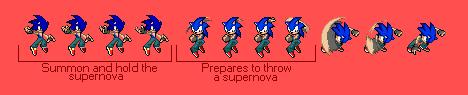 Sonic Custom Sprites: Cooler's Supernova by pokeczarelf