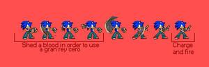 Sonic Custom Sprites: Gran Rey Cero