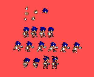 Sonic Custom Sprites: Keg Runner by pokeczarelf