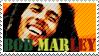 bob marley by FediniSTAMPpage