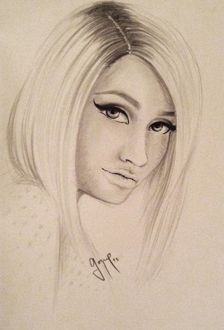 My nicki minaj by usher5656 on deviantart my nicki minaj by usher5656 voltagebd Image collections